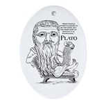 Plato Oval Ornament