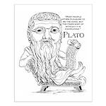 Plato Small Poster