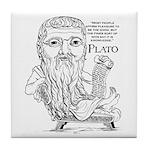 Plato Tile Coaster