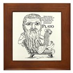 Plato Framed Tile