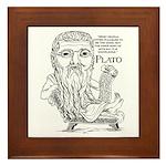 Plato Framed Tile