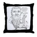 Plato Throw Pillow