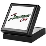 For Amusement Only Keepsake Box