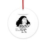Descartes Ornament (Round)