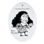 Descartes Oval Ornament