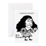 Descartes Greeting Cards (Pk of 10)