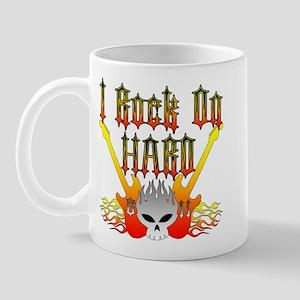 I Rock On Hard Mug
