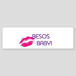 BESOS BABY Bumper Sticker