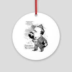 Nietzsche Ornament (Round)