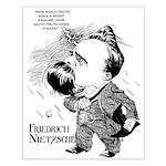 Nietzsche Small Poster