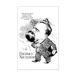 Nietzsche Mini Poster Print