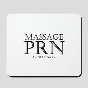 Massage prn Mousepad