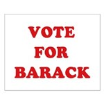 Vote for Barack Small Poster