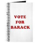 Vote for Barack Journal