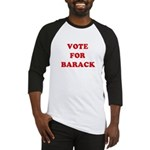 Vote for Barack Baseball Jersey
