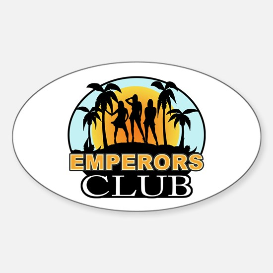 Emperor's Club Oval Decal