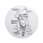 Bertrand Russell Ornament (Round)