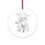 Bertrand Russell Ornament (Round)