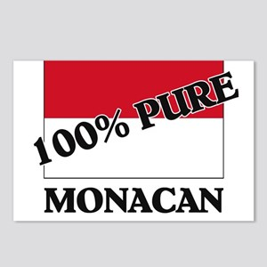 100 Percent MONACAN Postcards (Package of 8)