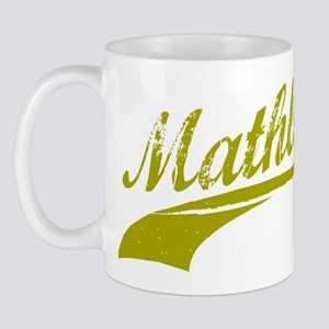 Mathlete (Gold) Mug