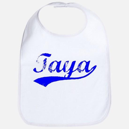Vintage Taya (Blue) Bib