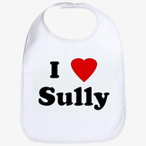 I Love Sully Bib