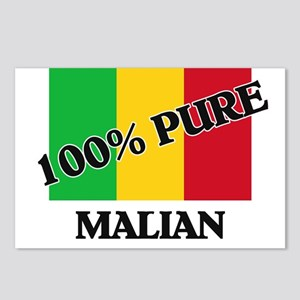 100 Percent MALIAN Postcards (Package of 8)