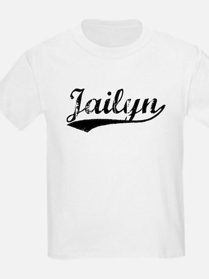 Vintage Jailyn (Black) T-Shirt