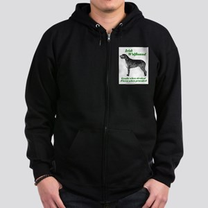 Irish Wolfhound Gentle when stroked Sweatshirt