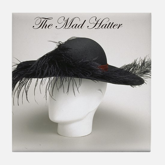 The Mad Hatter - Millinery Tile Coaster