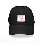 Vote for Obama Black Cap