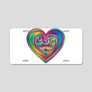 Electric Daisy Carnival Heart Aluminum License Pla