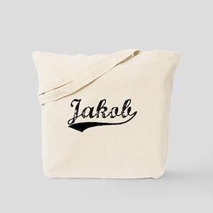 Vintage Jakob (Black) Tote Bag