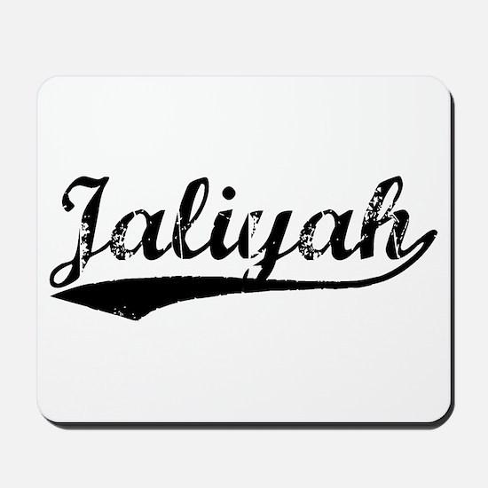Vintage Jaliyah (Black) Mousepad