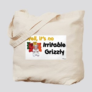 Irritable Grizzly Tote Bag