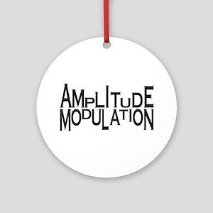 Amplitude Ornament (Round)
