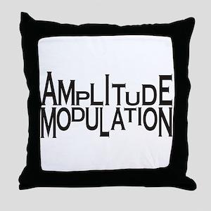 Amplitude Throw Pillow