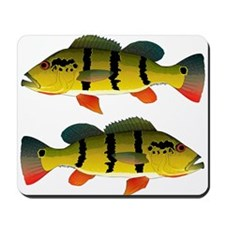 Peacock bass Mousepad