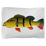 Peacock bass Pillow Sham