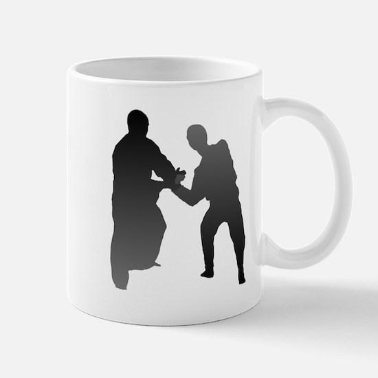 Aikido Silhouette Mug