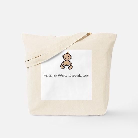 """""""Future Web Developer"""" Tote Bag"""