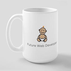 """Future Web Developer"" Large Mug"