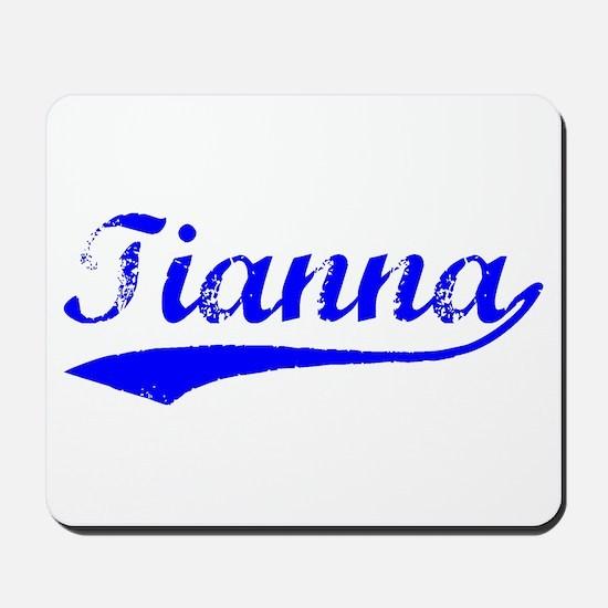 Vintage Tianna (Blue) Mousepad