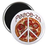Peace-za Magnet
