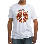 Peace-za Fitted T-Shirt