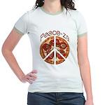 Peace-za Jr. Ringer T-Shirt