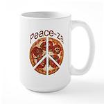Peace-za Large Mug