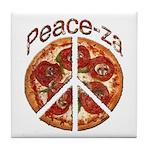 Peace-za Tile Coaster