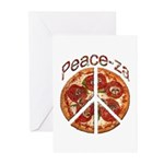 Peace-za Greeting Cards (Pk of 10)