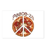 Peace-za Postcards (Package of 8)